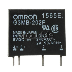 Rele 2 Amper 5 Volts Estado Solido G3mb-202p