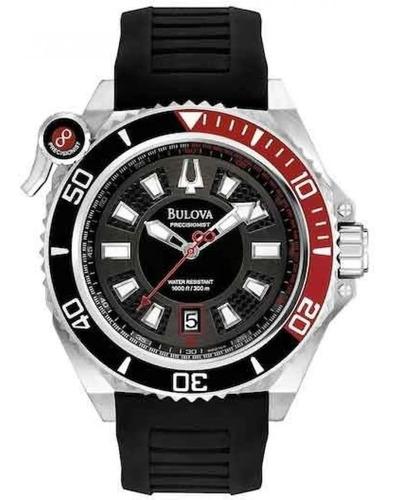 Relógio Bulova Masculino Precisionist Wb31569t *scuba Diver