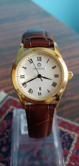 Relógio Feminino Dourado Vintage