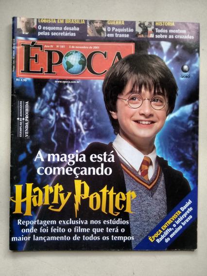 Revista Época 181 Harry Potter Daniel Radcliffe C673