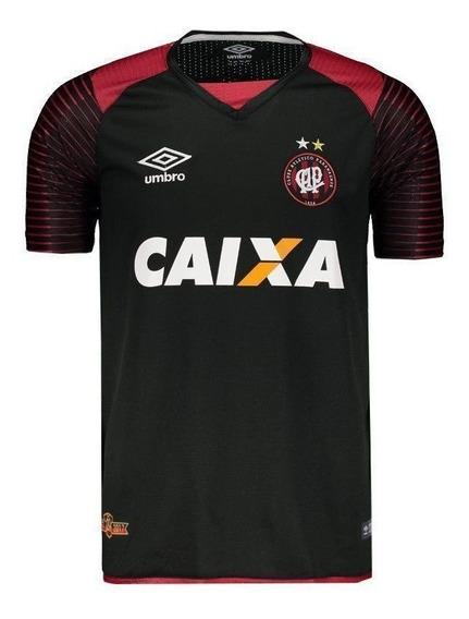 Camisa Umbro Atlético Paranaense Goleiro 2017 Preta