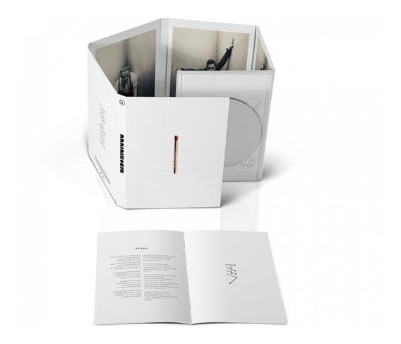 Rammstein Cd Deluxe Importado Nuevo Original