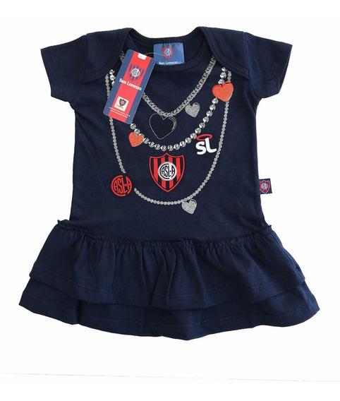 Vestido Beba Nena San Lorenzo Producto Con Licencia Oficial
