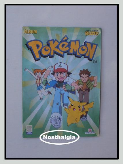 Álbum Pokemon - Buzzy - Incompleto - F(0015)