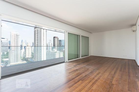 Apartamento No 15º Andar Com 1 Dormitório E 2 Garagens - Id: 892967602 - 267602