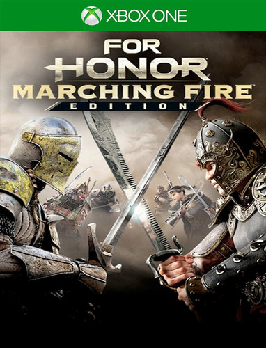 For Honor Marching Fire Xbox One - 25 Dígitos (envio Já)