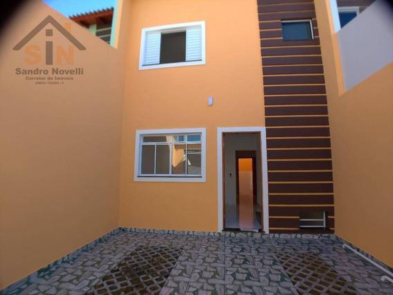 Sobrado Com 2 Dormitórios À Venda, 60 M² Por R$ 260.000 - Parque Residencial Scaffid Ii - Itaquaquecetuba/sp - So0115