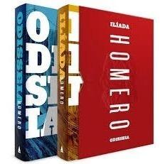 Box Odisséia E Ìlíada - 2 Livros Capa Dura - Lacrados
