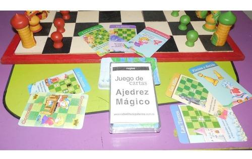Juego De Cartas Magicas De Ajedrez