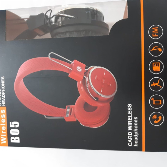 Fone Bluetooth Ouvido B05 Wireless Stereo Headphones