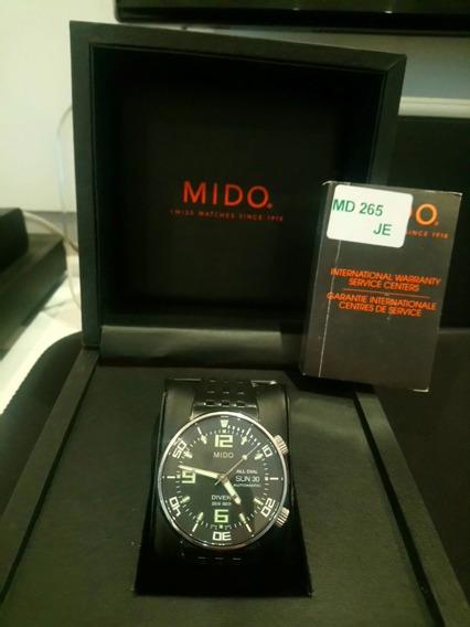 Relogio Mido All Dial Diver 200 Automatico - Original