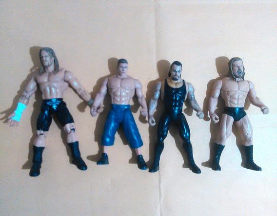 Luchadores Wwe Triple H Undertaker John Cena