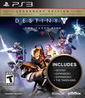 Destiny The Taken King Legendary Edition Ps3