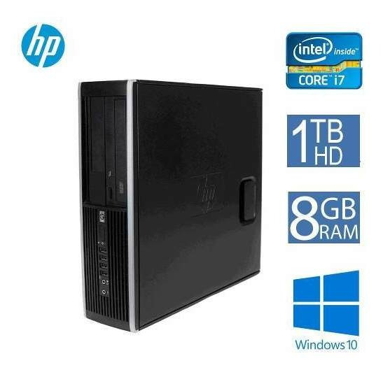 Computador Cpu Desktop Hp Elite 8300 I7 8gb 1 Tb Hd