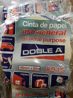 Cinta De Papel 48mm X 50m Doble A