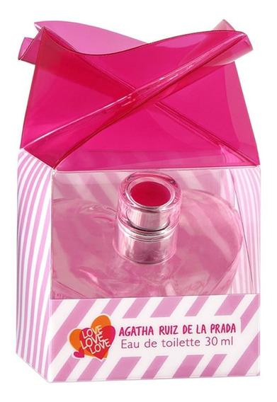 Agatha Ruiz De La Prada Love Love Love Edt 30ml Vapo Blz