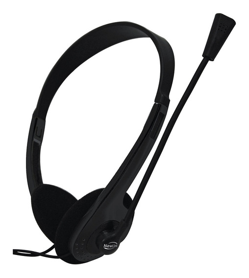 Headphone Headset Newlink High Tone Com Microfone Hs302