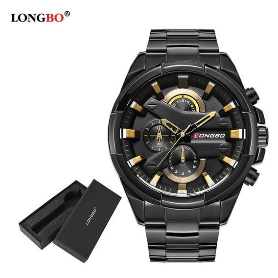 Relógio Masculino Barato Longbo Original Homem