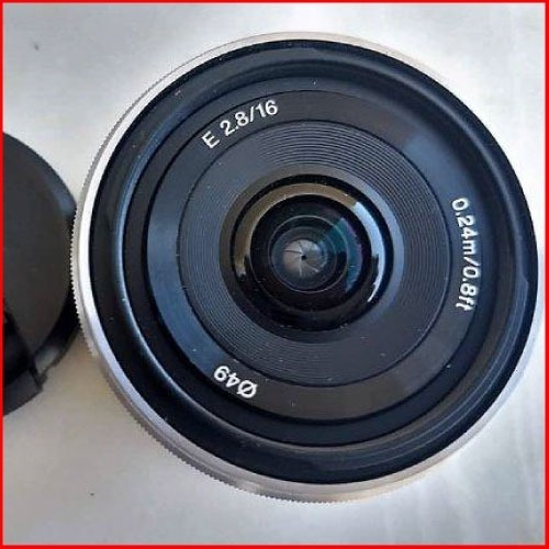 Lente 16mm 2,8 Sony Usada