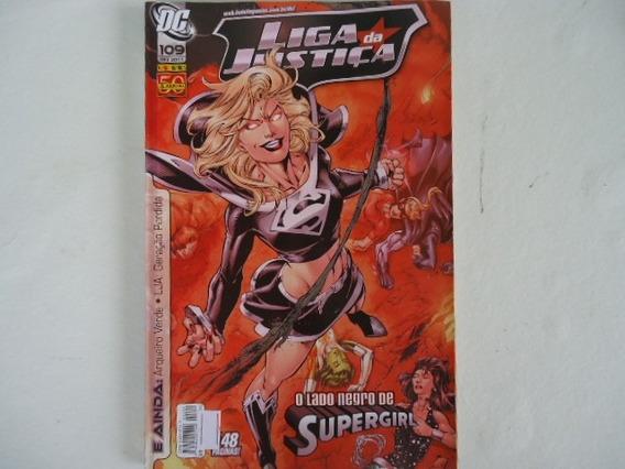 Dc 109 Liga Da Justiça O Lado Negro De Supergirl 2011