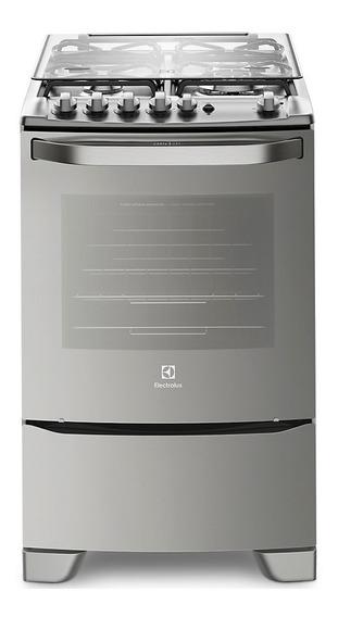 Cocina A Gas Electrolux 56tax Inox Horno Autolimpiante