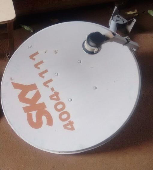 Antena Sky Original Com Lnb - Somente Antena