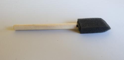 Imagen 1 de 1 de Cepillo/pincel Poliespuma Limpiar Rejilla Aire Auto Detail