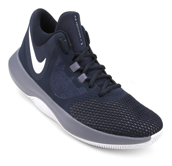 Tênis Nike Air Precision Ii Masculino - Marinho E Cinza
