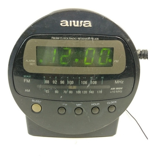 Rádio Relógio Antigo Aiwa Fr- A35u