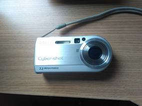 Câmera Digital Cyber Shot - Carl Zeiss Zoom 7.2 Visor Lcd
