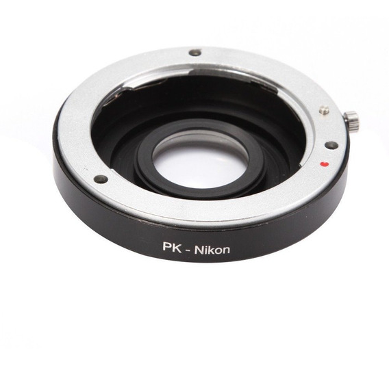 Adaptador Lentes Pentax Nikon Pk-nikon Frete Grátis