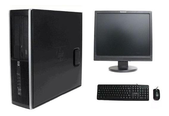 Computador Hp Elite 8200 I5 8gb 120ssd Monitor 17 Polegadas