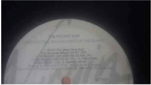 Lp/vinil The Pacific Age-orchestral Manoeuvres In The Dark