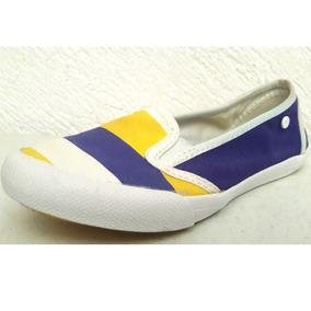 Flats Hurley Navy Super Confort Bicolor Blue Marine & Volt