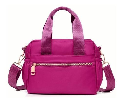 Imagen 1 de 7 de Bolsa Mochila Crossbody Bandolera Mujer Shoulder Bag