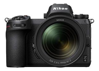 Cámara Sin Espejo De Formato Fx De Nikon Z6 Cuerpo Z De W