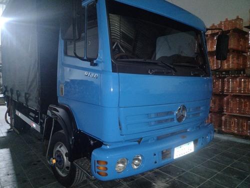 Imagem 1 de 14 de Mercedes-benz 914c Caminhão 3/4 Bau Sider