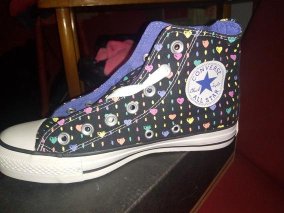 Zapatillas Converse All Star Corazones