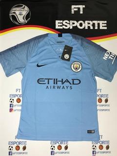 Camisa Manchester City 18/19 Original