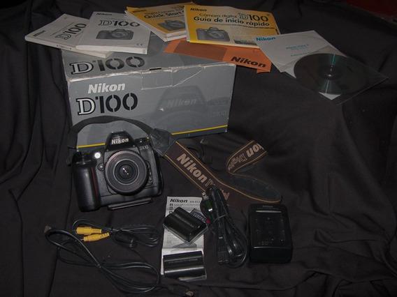 Câmera Nikon D100 + Lente 35-80mm + Acessórios Originais