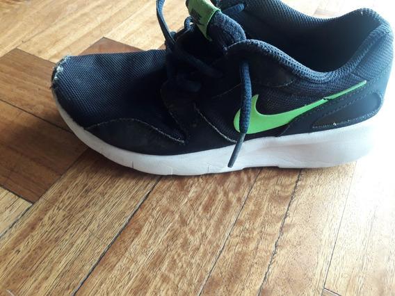 Zapatilllas Nike Originales Azules Talle 4 Nro 34 Imp Usa
