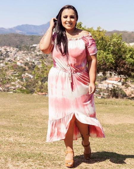 Vestido Midi Grávida Gestante Plus Size Roupa Feminina 2019