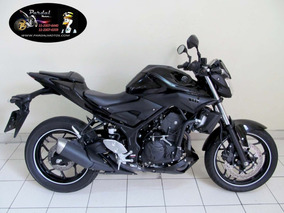 Yamaha Mt 03 2018 Preta