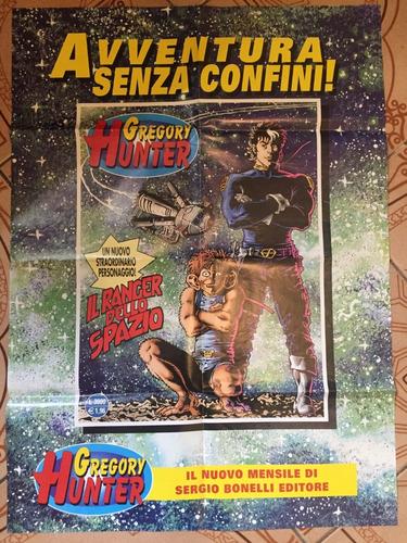 Poster Italiano Gregory Hunter - Bonellihq Cx417 B19