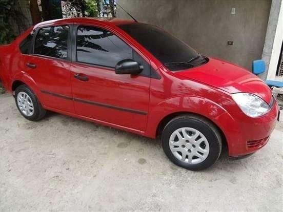 Ford Fiesta 1.6 2006 - Completo - Vermelho