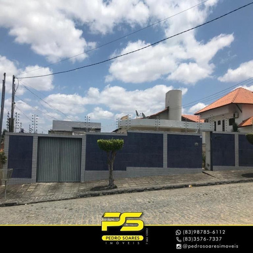 Casa Com 4 Dormitórios À Venda Por R$ 1.200.000 - Alto Branco - Campina Grande/pb - Ca0693