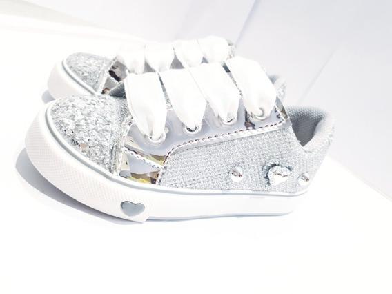 Zapatillas Con Brillos Nena Glitters