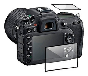Protetor Pelicula Vidro Duplo Lcd Display Nikon D7100 D7200