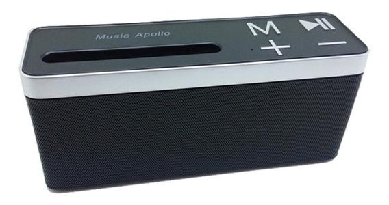 Caixa De Som Apollo S4000 Bluetooth Portátil Radio Micro Sd