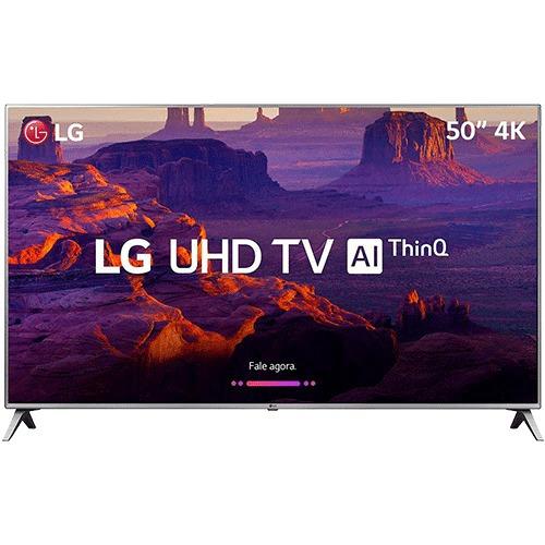 0smart Tv Led 50 LG 50uk6510 Ultra Hd 4k Com Conversor